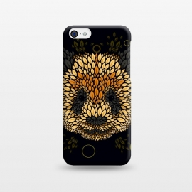 iPhone 5C  Panda face by Q-Artwork