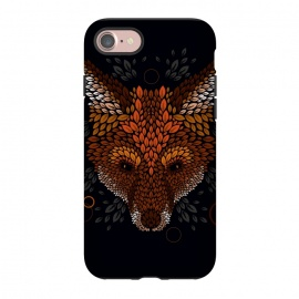 iPhone 8/7  Fox Face by Q-Artwork