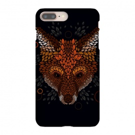 iPhone 8/7 plus  Fox Face by Q-Artwork