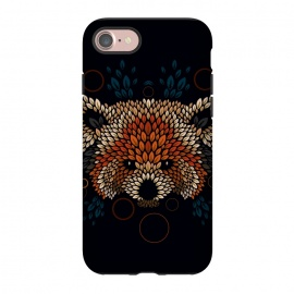 iPhone 7  Red Panda Face by Q-Artwork