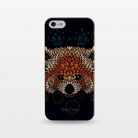 iPhone 5/5E/5s  Red Panda Face by Q-Artwork