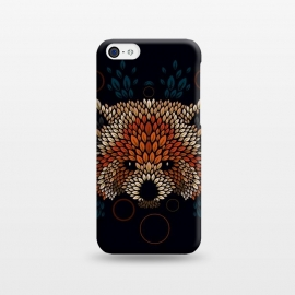 iPhone 5C  Red Panda Face by Q-Artwork