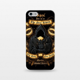 iPhone 5/5E/5s  The Nine Tavern by Q-Artwork (lord of rings,fellowship of the ring,movie,nazgul,the nine,ghost,king,fantasy)