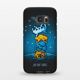 Galaxy S7  Cute Invaders by Q-Artwork