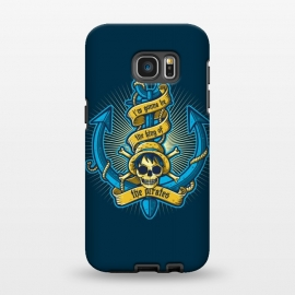 Galaxy S7 EDGE  King Of Pirates by Q-Artwork