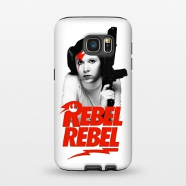 Galaxy S7  Rebel Rebel by Alisterny (star-wars, starwars, the-force, theforce, resistance, disney, leia, princess-leia, princessleia, Carrie-Fisher, CarrieFisher, rebel, lucas-film, lucasfilm, classicrock, rock, bowie, davidbowie, david-bowie, rebel-rebel, rebelrebel, lightning-bolt, lightningbolt, Aladdin-Sane, AladdinSane, david-bowi)