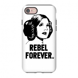 iPhone 8/7 StrongFit Rebel Forever by Alisterny (star-wars, starwars, the-force, theforce, resistance, disney, leia, princess-leia, princessleia, Carrie-Fisher, CarrieFisher, rebel, lucas-film, lucasfilm,mashup, mashups, funny, popculture, funnytshirt, funnyshirt, tshirt, parody, nerd, geek, geeky, humor, humour, fanart, fan art, movies, movie, fi)