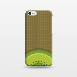 iPhone 5C  Kiwi Pop by Dellán (fruit,food,gourmet,citric,pattern,kiwi,minimalism,tropical,beach,fresh,summer,spring,party)