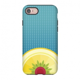 iPhone 8/7  Blue Hawaii by Dellán (Hawaii,beach,sun,fresh,summer,spring,juice,fruit,good vibes,tropical,blue,foot,gourmet,chef)