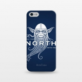 iPhone 5/5E/5s  NORTH by RAIDHO (star wars,yoda,vikings,may the force be with you,parody,knotwork)