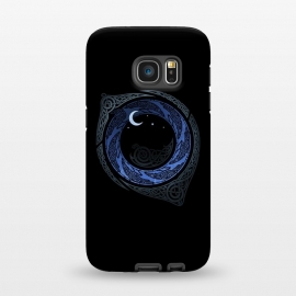 Galaxy S7  MOONLIGHT ROUNDELAY ( Raven's Eye ) by RAIDHO