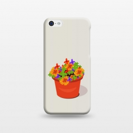 iPhone 5C  Flowerpot by Parag K (Art,flower pot)