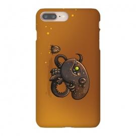 iPhone 8/7 plus  Cute Alien by  (cute, monster,kawaii,alien,lifeform,character,character design)