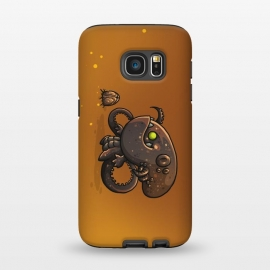 Galaxy S7 StrongFit Cute Alien by Q-Artwork (cute, monster,kawaii,alien,lifeform,character,character design)
