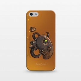 iPhone 5/5E/5s  Cute Alien by Q-Artwork (cute, monster,kawaii,alien,lifeform,character,character design)