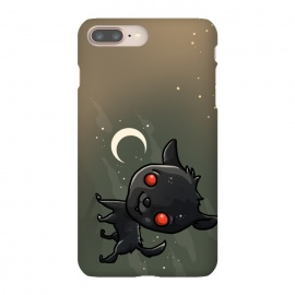 iPhone 8/7 plus  Cute Black Shuck by  (dog,cute,kawaii,puppy,pet,black shuck,character design,animal)