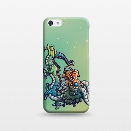 iPhone 5C  Cute Chinese Dragon by Q-Artwork