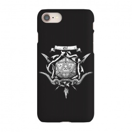 iPhone 7 SlimFit Elf Crest by Q-Artwork (dnd,dungeons and dragons,adventure,rpg,role play,gaming,gamer,d20,critical hit,game)