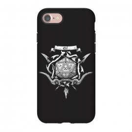 iPhone 8/7  Elf Crest by Q-Artwork (dnd,dungeons and dragons,adventure,rpg,role play,gaming,gamer,d20,critical hit,game)