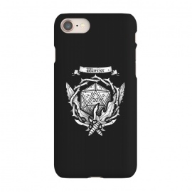 iPhone 7 SlimFit Warrior Crest by Q-Artwork (dnd,dungeons and dragons,crest,warrior,weapons,sword,blade,rpg,role play,gamer,gaming,adventure)