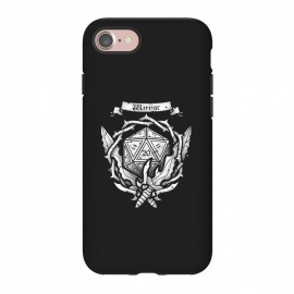 iPhone 8/7  Warrior Crest by Q-Artwork (dnd,dungeons and dragons,crest,warrior,weapons,sword,blade,rpg,role play,gamer,gaming,adventure)