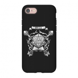 iPhone 8/7  Wizard Crest by Q-Artwork (dnd,dungeons and dragons,role play,rpg,adventure,critical hit,d20,magic,wizard,mage,spell)