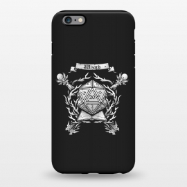 iPhone 6/6s plus StrongFit Wizard Crest by Q-Artwork (dnd,dungeons and dragons,role play,rpg,adventure,critical hit,d20,magic,wizard,mage,spell)