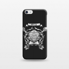 iPhone 5C  Wizard Crest by Q-Artwork (dnd,dungeons and dragons,role play,rpg,adventure,critical hit,d20,magic,wizard,mage,spell)