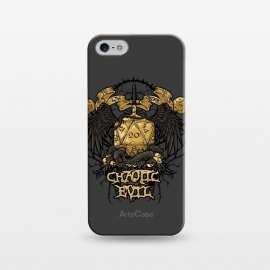 iPhone 5/5E/5s  Chaotic Evil by Q-Artwork (dnd,dungeons and dragons,chaotic,evil,rpg,adventure,dice,d20,chaos,wings,role play)