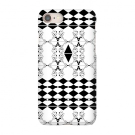 iPhone 8/7  Black and White by Karim Luengo (vector,pattern,illustration,geometric,black,white)