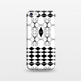 Black and White by Karim Luengo (vector,pattern,illustration,geometric,black,white)