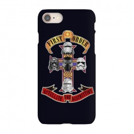 iPhone 7 SlimFit SATELLITE FOR DESTRUCTION by SKULLPY (MOVIES, SKULLPY, STAR WARS,STARWARS,STORMTROOPER,NERD,GEEK, NERDY,KYLO REN,PHASMA,GUNS'N ROSES,GUNSNROSES,APPETITE,SATELLITE,DESTRUCTION,MUSIC,COVER)