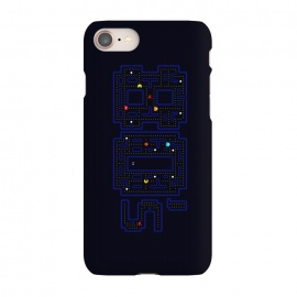 iPhone 7  FEELING 80'S - PACMAN by SKULLPY