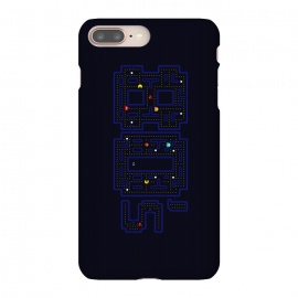 iPhone 8/7 plus  FEELING 80'S - PACMAN by  (SKULLPY,80'S,80S,EIGHTIES,1980'S,1980S,PACMAN,PAC MAN,NAMCO,VIDEOGAMES,RETROGAMES,RETROGAMING,GAMER,CLASSIC,GHOSTS)