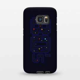 Galaxy S7  FEELING 80'S - PACMAN by SKULLPY