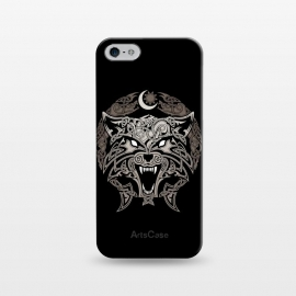 iPhone 5/5E/5s  RAGNAROK WOLVES by RAIDHO (wolf,ragnarok,fenrir,sun and moon,nordic mythology,vikings,knotwork)