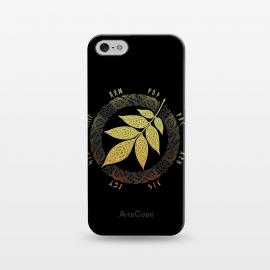 iPhone 5/5E/5s  ASGARD. FALL. by RAIDHO (ASGARD,YGGDRASSIL,ASH LEAF,VIKINGS,NORDIC MYTHOLOGY,KNOTWORK,FUTHARK,RUNES)