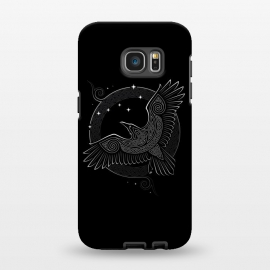 Galaxy S7 EDGE  NORTHERN RAVEN ( Path to the North ) by RAIDHO