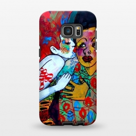 Galaxy S7 EDGE  PAINTING358 by Claudio Parentela