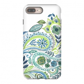 iPhone 8/7 plus  Watercolour Paisley by Laura Grant