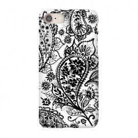 iPhone 8/7  Ink paisley by Laura Grant
