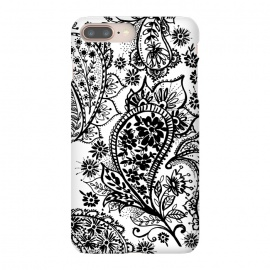 iPhone 8/7 plus  Ink paisley by Laura Grant