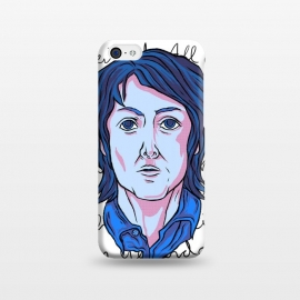 iPhone 5C  MCCARTNEY by Ilustrata (beatles , the-beatles , thebeatles , john-lennon , paul-mccartney , ringo-starr , george-harrison , john-paul-george-and-ringo , imagine , fab-four , lennon , harrison , abbey-road )