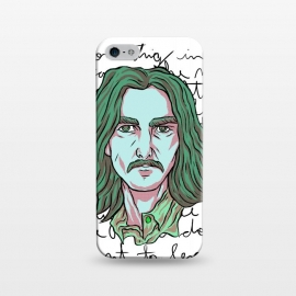 iPhone 5/5E/5s  HARRISON by Ilustrata (beatles , the-beatles , thebeatles , john-lennon , paul-mccartney , ringo-starr , george-harrison , john-paul-george-and-ringo , imagine , fab-four , lennon , harrison , abbey-road , starr)
