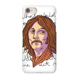 iPhone 7 SlimFit STARR by Ilustrata (beatles , the-beatles , thebeatles , john-lennon , paul-mccartney , ringo-starr , george-harrison , john-paul-george-and-ringo , imagine , fab-four , lennon , harrison , abbey-road , starr)