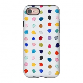 iPhone 8/7  Polka Daubs by Ann Marie Coolick (polkadots,polka dots,circles,colorful,pop art,multicolor,confetti)