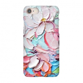 iPhone 7 SlimFit Cherry Blossom Bouquet by Ann Marie Coolick (cherry blossoms,spring,flowers,pink,floral,texture,chic)