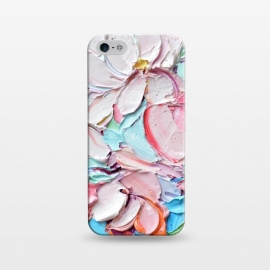 iPhone 5/5E/5s  Cherry Blossom Bouquet by Ann Marie Coolick (cherry blossoms,spring,flowers,pink,floral,texture,chic)