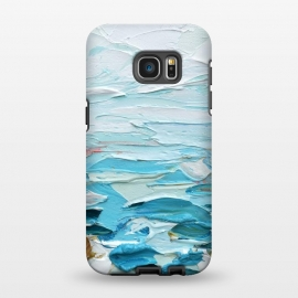 Galaxy S7 EDGE  Pacific Shore by Ann Marie Coolick
