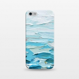 iPhone 5/5E/5s  Pacific Shore by Ann Marie Coolick (sea,beach,ocean,Pacific,waves,water,turquoise,blue,coastal)